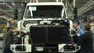 Mercedes-Benz Unimog - fabryka
