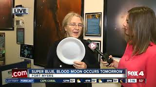 Rare 'super blue blood moon' will light the sky Wednesday morning - 7am live report