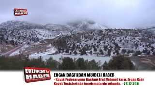 Başkan Yarar Ergan Dağı'na Hayran Kaldı