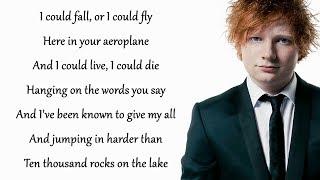 Dive   Ed Sheeran (Lyrics)