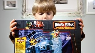 getlinkyoutube.com-Angry Birds Star Wars 2 Jenga TIE FIGHTER GAME