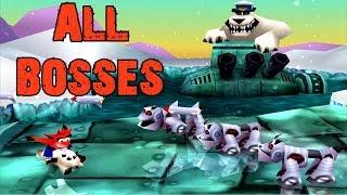 getlinkyoutube.com-Crash Bash - All Bosses