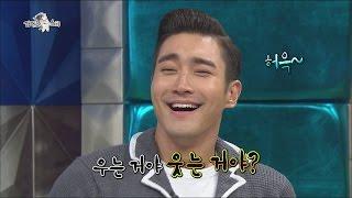 getlinkyoutube.com-[JPN SUB] 라디오스타 - '얼굴 컨트롤러' 천의얼굴 최시원! 슈주 멤버들의 얼굴 모사!? 20141008