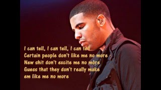 Drake- Trust Issues (lyrics)