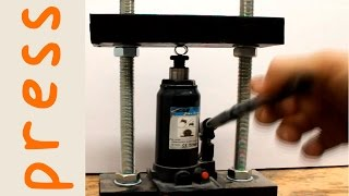 getlinkyoutube.com-DIY 5 Ton Hydraulic Press