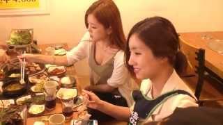 getlinkyoutube.com-BJ윤마,왕쥬,쏘님,윤경 먹방데이 리허설후 고기먹방 - 최군TV - 3