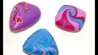 getlinkyoutube.com-Бусины-чечевички из полимерной глины