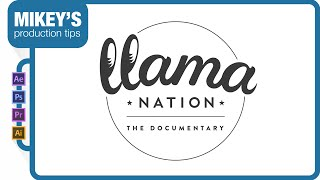 getlinkyoutube.com-Logo animation: Llama Nation in After Effects