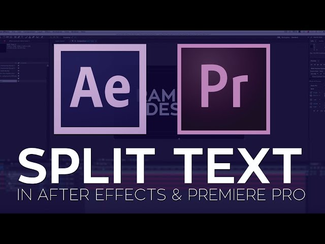 Ask Rampant: How to Split Text in Adobe After Effects and Premiere Pro