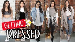 getlinkyoutube.com-5 EASY Outfits for School | Bethany Mota