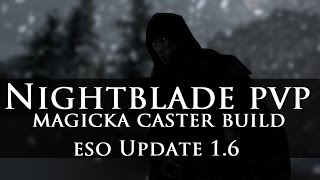 getlinkyoutube.com-●【ESO PVP】 - Magicka Nightblade 1vX - Update 1.6 「Live #18」●