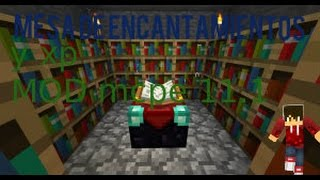 getlinkyoutube.com-Encantamientos y xp mod para minecraft pe 11.1
