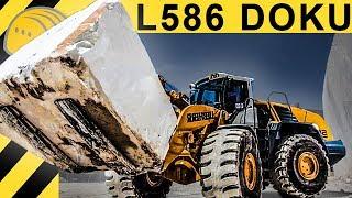 getlinkyoutube.com-Liebherr Radlader L586 im Einsatz in Carrara - Jobreport im Marmor Steinbruch - Marble Wheel Loader