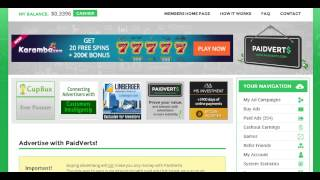 getlinkyoutube.com-PaidVerts - How To Get Paid The Most With Your Account PaidVerts Review