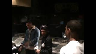 getlinkyoutube.com-Chris Brown, Tyga, Sean Kingston & Ty Dolla $ign In The Studio