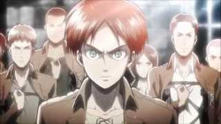 getlinkyoutube.com-Shingeki no Kyojin - Opening 1, 2 - 1080p HD