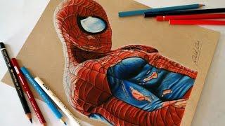 Speed Drawing: Homem-Aranha