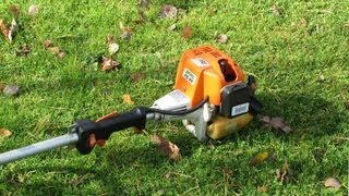 getlinkyoutube.com-How To Winterize a Grass Trimmer / Weedwacker