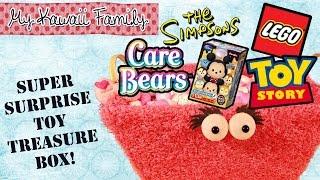 getlinkyoutube.com-Super Surprise TOY Treasure Box Ep6!! LEGO, Tsum Tsum Chocolate Egg, Toy Story, Care Bears