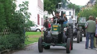 getlinkyoutube.com-Lanz Bulldog Parade Burkhardtsdorf - Traktor - Tractor