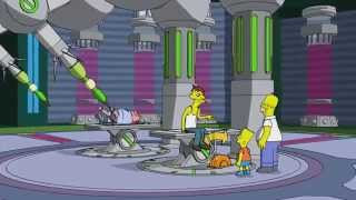 getlinkyoutube.com-The Simpsons Full Episode   2014 The Simpsons Family Guy Crossover   Comic Con   Game