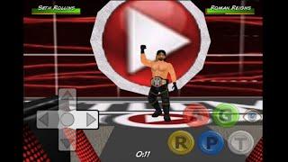 getlinkyoutube.com-Seth Rollins Cashes in at Mania - Wrestling Revolution 3D