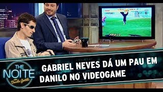 getlinkyoutube.com-Deficiente visual dá um pau em Danilo no videogame