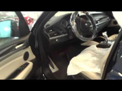 Попытка угона BMW X6 ноябрь 2015.