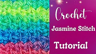 getlinkyoutube.com-How to Crochet a Jasmine Stitch Part I
