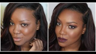 getlinkyoutube.com-Reverse Highlight & Contouring + Beginners Eye look