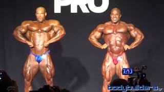 getlinkyoutube.com-2015 IFBB New York Pro - Victor Martinez & Juan Morel (HD)