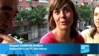 Manchester United et le FC Barcelone saffrontent  à Rome