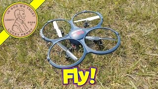 getlinkyoutube.com-Discovery HD Upgrade Quadcopter U818A-1 - Let's Check It Out!