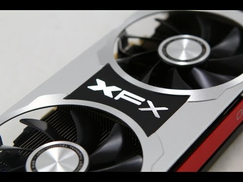 XFX R7970 Black Double Dissipation 3GB Video Card Review & Benchmarks