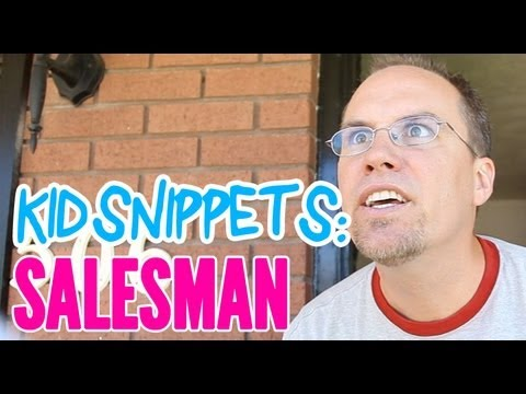 Kid Snippets - Salesman - by BoredShortsTV