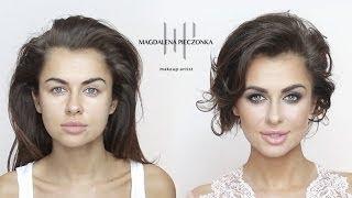 getlinkyoutube.com-Makijaż na galę z Natalią Siwiec