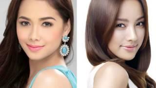 getlinkyoutube.com-Filipina & Korean Actresses