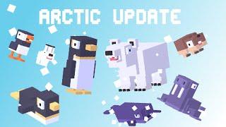 getlinkyoutube.com-CROSSY ROAD Update | 10 New & 2 Secret Characters! | Arctic Update Gameplay - August 2016