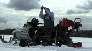Ice Fishing At Its Best - Northwestern Ontario