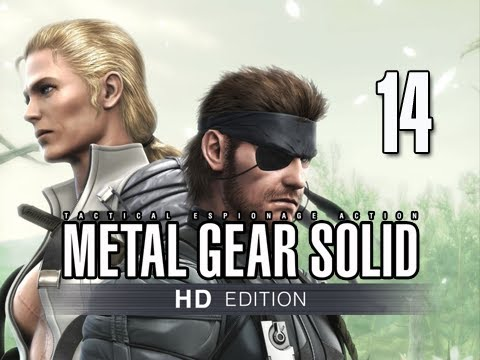 Metal Gear Solid 3 Snake Eater Collection Walkthrough - Part 14 BOSS The End Let's Play