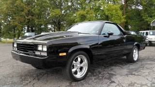 getlinkyoutube.com-Short Takes: Restomod 1984 Chevrolet El Camino Conquista (Start Up, Exhaust, Full Tour)