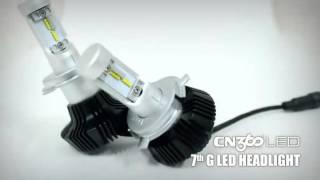 getlinkyoutube.com-CN360 2016 Philips Led Headlight Kit