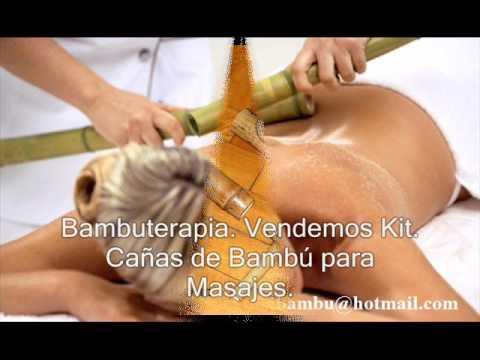 DIVIAL. Cañas de Bambú para masajes. Bambuterapia