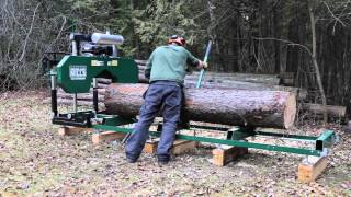 getlinkyoutube.com-2016 HM126 Portable Sawmill In Action