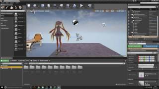 getlinkyoutube.com-Usar MMD en Unreal Engine 4 (PMX y VMD en UE4 )
