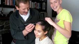 gr.8 shaving head for cancer