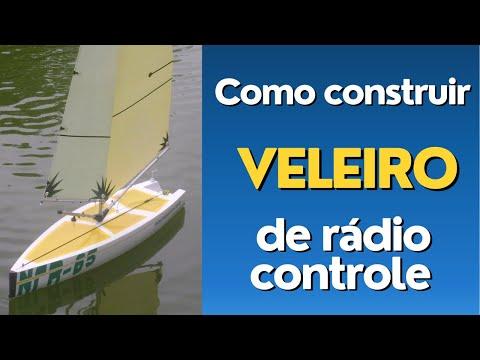 2/20 CONSTRUINDO VELEIRO NCR65 How to Make a Sailboat - NAUTIMODELISMO