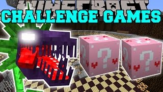 getlinkyoutube.com-Minecraft: MAN EATING PLANT CHALLENGE GAMES - Lucky Block Mod - Modded Mini-Game