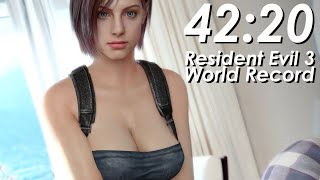 getlinkyoutube.com-Resident Evil 3 Speedrun World Record - 42:20