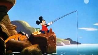 getlinkyoutube.com-Cartoni Animati - Walt Disney - Topolino, Paperino e Pippo - Topolino a pesca=.avi